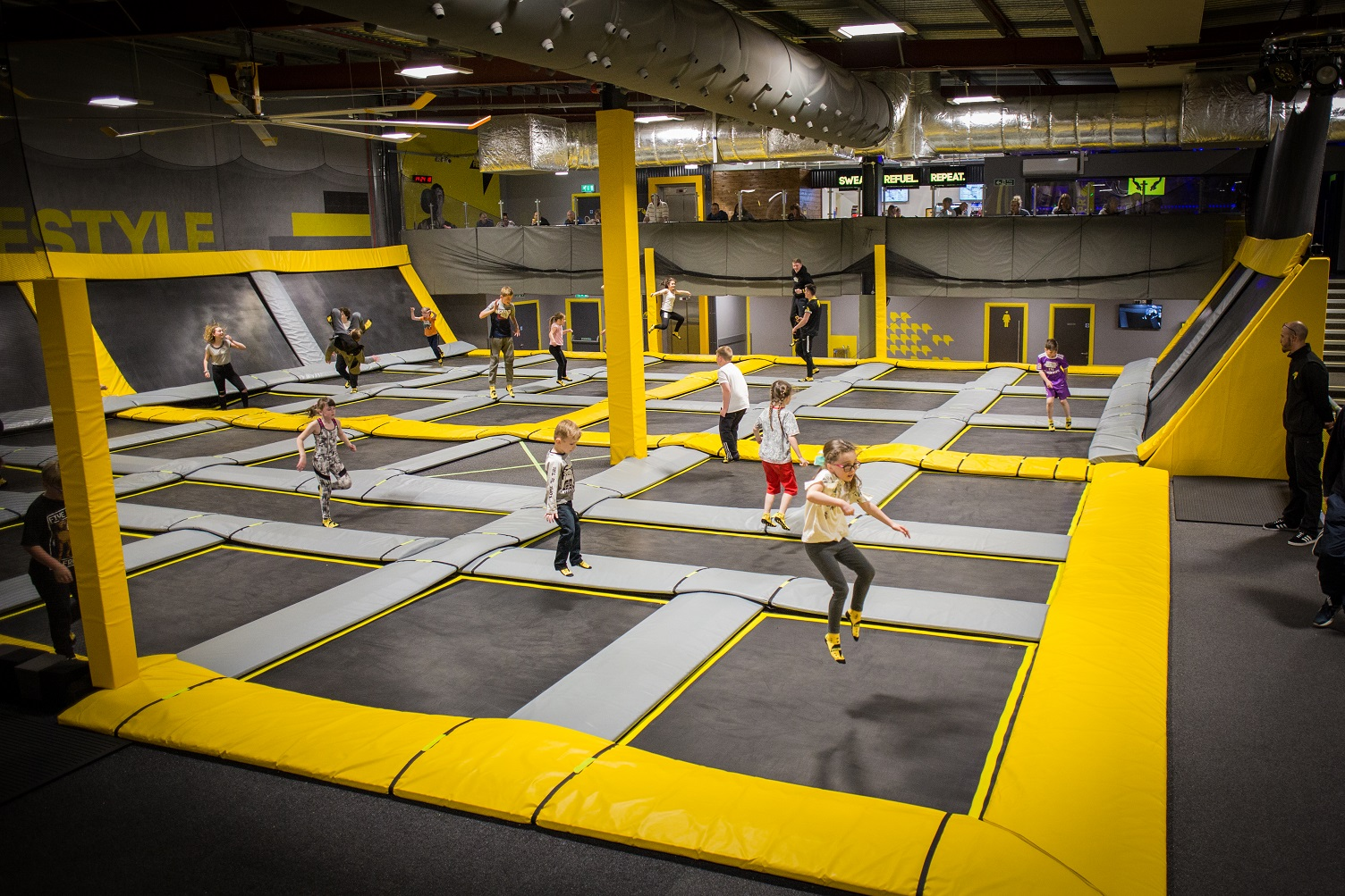 FREEDOME CELEBRATES SKY ZONE'S 14TH BIRTHDAY WITH  FREE JUMP PASSES AT CHESHIRE OAKS!